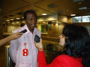 Coordinador de Cultura del Despacho para África, Rafael Arrundell
