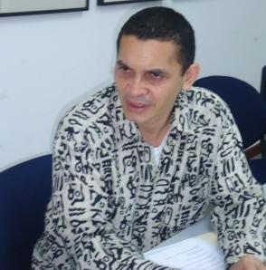 Viceministro para África Reinaldo Bolívar