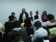 Presidenta Banco de la Mujer