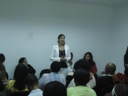 Viceministra Dulce Medina