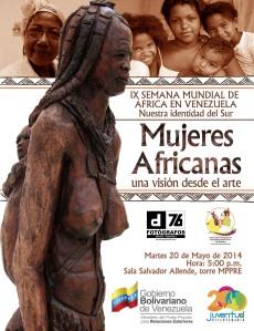 INVITACIÓN Exposición Mujeres Africanas