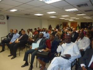 Clase inaugural de los diplomados del Centro de Saberes Africanos