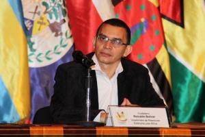 Instalacion del Congreso El Caribe que nos une 3 Viceministro Reinaldo Bolivar jpg