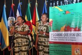 Instalacion del Congreso El Caribe que nos une 4 Agrupacion Eleggua