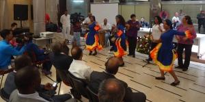 Presentación del Grupo Tambor y Gloria en Foro 220 años de la insurrección de José Leonardo Chirino