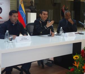 Viceministro Reinaldo Bolívar en Foro 220 años de la insurrección de José Leonardo Chirino