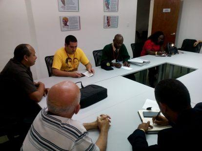 Visita de jóvenes africanos al Centro de Saberes 3