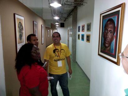 Visita de jóvenes africanos al Centro de Saberes 6