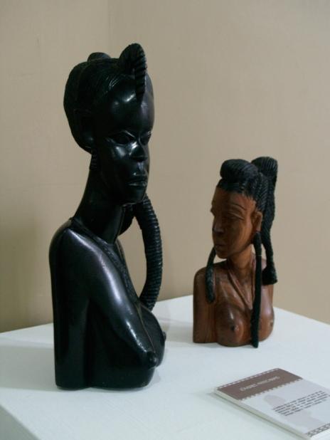 Piezas de la coleeción del Centro de Saberes Africanos 3